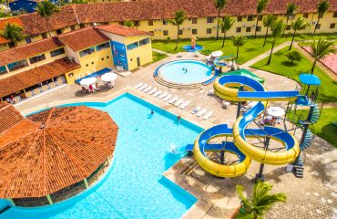 Piscinas do hotel